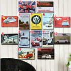 14 Car Styles Tin Sign Metal Poster Wall Decor Fit For BAR CLUB HOME Hanging