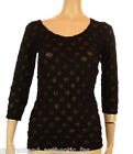 SPOTTY DOTTY BESTSELLING LAGENLOOK NET SHIRT - VARIOUS COLOURS & SIZES UK 12-28