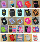Clothing Shoes -  Various Pet Puppy Small Dog Cat Pet Clothes Dress Vest T Shirt Apparel Clothes