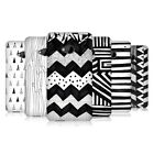 HEAD CASE BLACK AND WHITE DOODLE PATTERNS PROTECTIVE BACK CASE COVER FOR HTC ONE