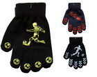 New Children's Colour Magic Gloves With Palm Grip Football Design One Size BNWT