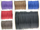 2mm PU Leather Cord Thread For Diy Bracelet Necklace Jewelry Making 10&100 yard