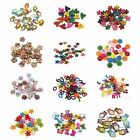 100pcs Mix Shape Various Size Sewing Wooden Buttons DIY Fit Sewing and Scrapbook
