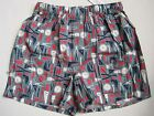 BANANA REPUBLIC Blue Tools Patterned Boxer Underwear Size S,L NWT