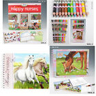 Depesche Top Model Horses Dreams, Miss Melody Colouring,Sticker Books & Pencils