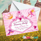 Personalised Princess Party Invitations - Fancy Dress Party  Princess Theme