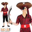 Pirate + Hat Boys Fancy Dress Book Week Fairy Tale Character Kids Costume Outfit