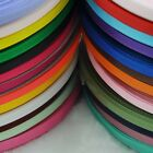 "U Pick  1/4""  (6mm )Grosgrain Ribbon craft/sewing/appliques Mix Color"