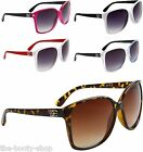 NEW D.E SUNGLASSES DESIGNER WOMENS LADIES CAT EYE BLACK OVERSIZED LARGE G-5036