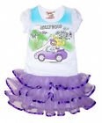 New Beautees Purple & White Hollywood TShirt & Tutu Outfit YOU PICK SIZE