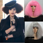 2015 fashion lady gaga star wig curly wavy long hair full wigs cosplay weave wig