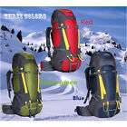 Free Postage Wateproof 75L Camping Hiking Mountain Tavel Sport Backpack Knapsack