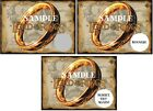 The Lord of Rings - Birthday Party -Party Favors - Scratch Off Tickets! (x12 ct)