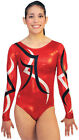 NEW!! Electricity C Gymnastics Competition Leotard by Snowflake Designs