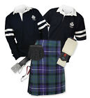 8yd Kilt Outfit 'Sports Premium' - 2-Stripe Rugby Top - Freedom
