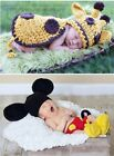 Lovely Newborn-9 Months Toddler Baby Kids Crochet Knit Cloth Photo Prop Outfits