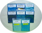 Cosmetic Grade Mica Powders-15 g = 0.5 oz Bags-Shades of Blue-8 Choices