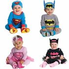 New Baby Boys Girls Long Sleeves Costume Jumpsuit + Matching Hat Size 00,0,1,2