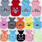 100% Cotton Pet Puppy Dog Cat Coat Clothes Cute Monkey T-Shirt Free Shipping #67