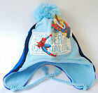 NEW BEANIE WINTER HAT SPIDERMAN - Boys/Girls Blue/Black Acrylic 54cm With Tags