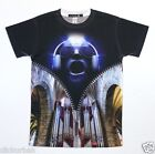 KAYDEN.K Men's Sublimation T-shirt Man with Head Phones All Over Print Tee