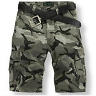 2014 New Fashion Hot Mens  Camouflage Overalls Cotton Men's Shorts CH