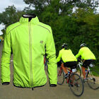 Men's Cycling Jacket Bike Jacket/Windbreaker/Raincoat Quick Dry Green Bike Wear