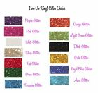 "Glitter t-shirt vinyl iron on Heat Transfer uncut sheet 20"" x 12"" cutter plotter"