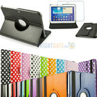 For Samsung Galaxy Tab 3 10.1 inch Tablet P5200 PU Leather Case Cover Rotating
