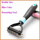Dog Pet Dematting Grooming Deshedding Trimmer Tool Comb Brush Rake 11 Blade