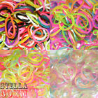 Rainbow Twister Loom Rubber Band Bracelet Making Packs Kits With S-Clips