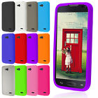For LG Optimus L90 Silicone Durable Matte Rubber Soft Skin Cover Phone Case