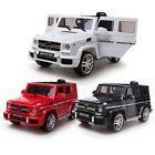 New Electric Kids Mercedes G55 AMG Ride on Car Jeep Parental Control MP3 Input