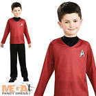 Scotty Star Trek Boys Fancy Dress Space Uniform Kids Movie Childrens Costume New on eBay