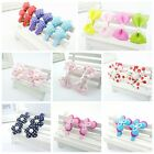 22PCS Handmade Girls Bows Bowknot Alligator Hair Clip Barrettes Accessories HLP5