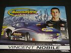 "2014 VINCENT NOBILE NAPA / MTN. VIEW TIRE ""SIGNED"" CHEVY PRO STOCK NHRA POSTCARD"