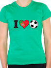 I LOVE FOOTBALL - Portugal / Portuguese / Flag / Sport Themed Women's T-Shirt