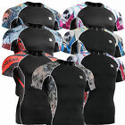 mens womens compression skin tight  shirts under outdoor sports baselayer Top