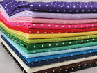 CT Small Polka Dot Fabric FAT QUARTER  spots dots 100% Cotton Quilting Patchwork