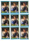 1X CLIFF RONNING 1989-90 OPC AUTOGRAPHED RC Rookie Authentic Lots Available