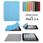 SMART MAGNETIC COVER CASE FOR APPLE IPAD 2 3 4 ULTRA SLIM FOLDING STAND CASE
