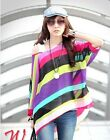 2015 Women Summer Print Tops Casual Batwing Sleeve O-Neck Shirts Chiffon Blouses
