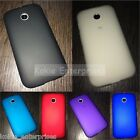 Moto E XT1022 Matte Finish Silicone Shell Skin Back Case For Motorola Moto E