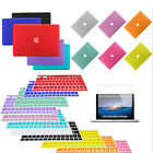 "Matte Hard Case+Keyboard Cover+LCD film for Mac Book Air 11 13 Pro 13 15"" Retina"