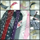 Cotton Pattern Paisley Pin Up Urban 50s Rockabilly Head Hair Neck Scarf Festival