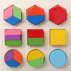 Baby Early Educational Toy Geometry Block Wooden Puzzle Montessori ZWZ122