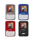 SanDisk Sansa Clip Zip SDMX22-004G Series Portable MP3 Player FM Radio in Colors