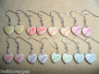 Earrings Hearts Kitsch Retro Kawii Buy One Get One Free -Free Pair Random Colour