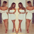 2014 Women's Summer Bandage BodyCon Lace Evening Sexy Party Cocktail Mini Dress