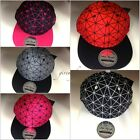 Spider web snapback caps, mens, ladies, youth flat peak baseball fitted hats